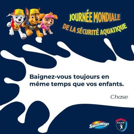citation-sécurité aquatique Swim Stars