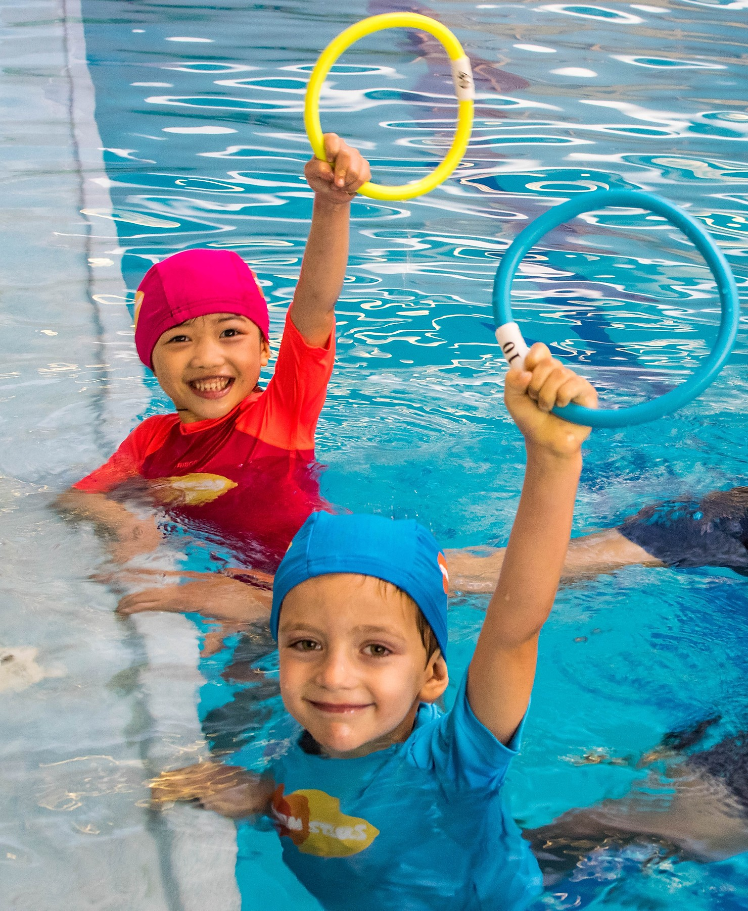 enfants Swim Stars piscine