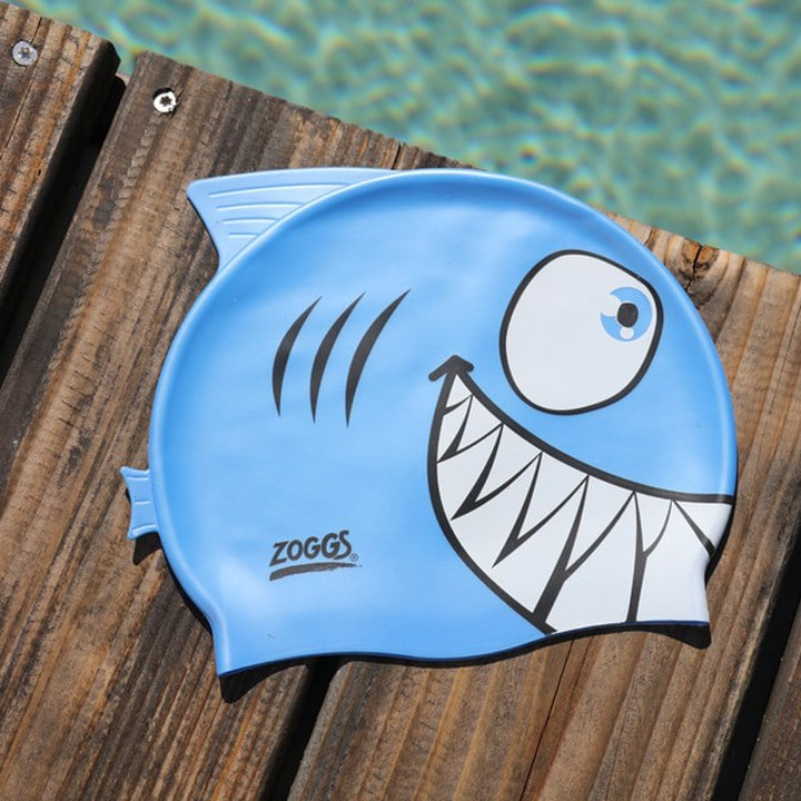 bonnet de bain piscine requin